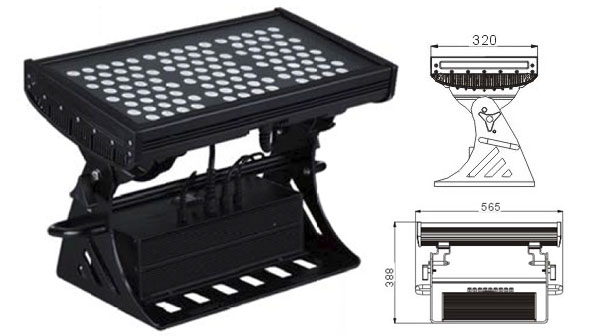 Guangdong udhëhequr fabrikë,ndriçimi industrial i udhëhequr,250W Square IP65 LED dritë përmbytjeje 1, LWW-10-108P, KARNAR INTERNATIONAL GROUP LTD