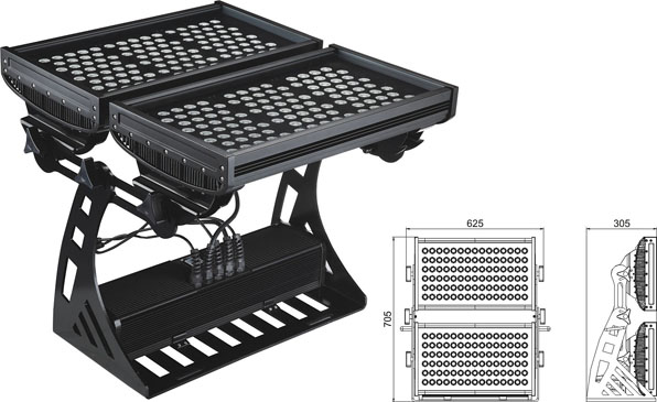 Led святло DMX,прывёў тунэль святла,SP-F620A-216P, 430W 2, LWW-10-206P, KARNAR INTERNATIONAL GROUP LTD