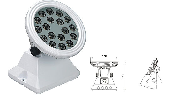 Led святло DMX,Святлодыёдны святло шайбы сцены,LWW-6 LED паводка Lisht 1, LWW-6-18P, KARNAR INTERNATIONAL GROUP LTD