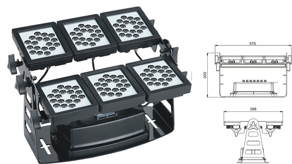 Led святло DMX,прывёў тунэль святла,SP-F310B-36P, 75W 1, LWW-9-108P, KARNAR INTERNATIONAL GROUP LTD