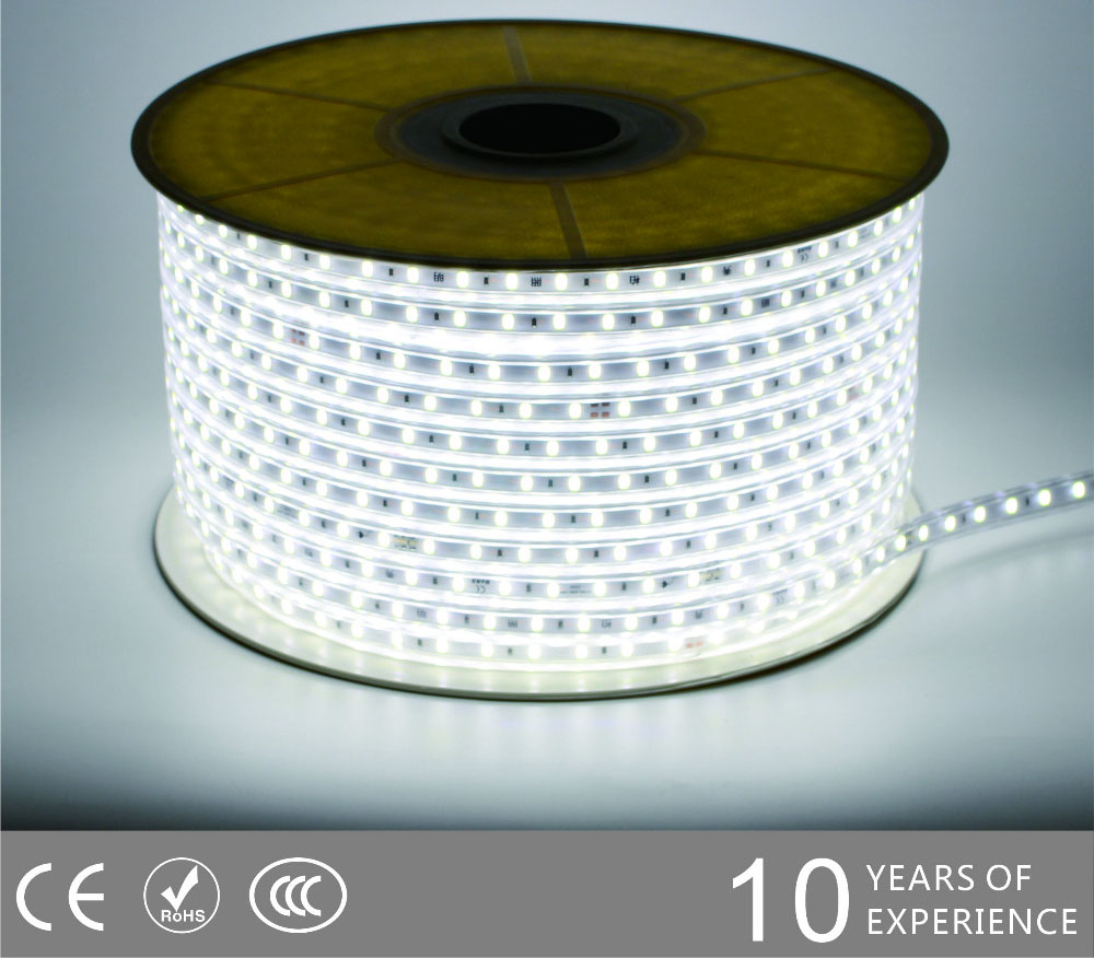 Guangdong udhëhequr fabrikë,rrip fleksibël,110V AC Nuk ka Wire SMD 5730 LEHTA LED ROPE 2, 5730-smd-Nonwire-Led-Light-Strip-6500k, KARNAR INTERNATIONAL GROUP LTD