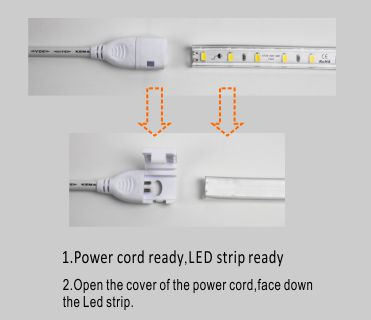 Led drita dmx,rrip fleksibël,110V AC Nuk ka Wire SMD 5730 LEHTA LED ROPE 5, install_1, KARNAR INTERNATIONAL GROUP LTD