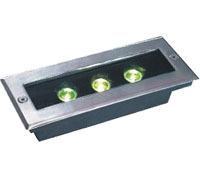 Led святло DMX,LED пахаваны святла,1W Square Пахаваны Light 6, 3x1w-120.85.55, KARNAR INTERNATIONAL GROUP LTD